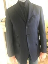 Ermenegildo Zegna blazer giacca in lana uomo blu Tg 52 come nuova 9e6126d8626