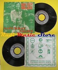 LP 45 7'' BAY CITY ROLLERS Saturday night Hey!c.b. 1973 france BELL no cd mc dvd