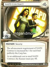 Android Netrunner LCG - 1x NAPD Contract  #119 - Double Time
