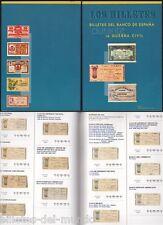 B-D-M Catalogo billetes del banco de España durante la Guerra Civil 1936
