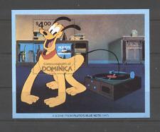 Dominica 1981 Disney/Pluto/Music m/s ref:n12017