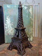 Cast Iron Metal Paris Eiffel Tower Candle Votive Tealight Holder Home Decor