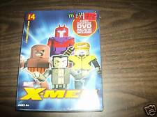X-Men Minimates 4-pack Mint in Box with DVD