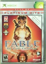 Fable: The Lost Chapters Platinum Hits new sealed original Xbox