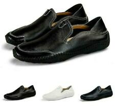 Mens Moccasins Loafers Slip On Flats Casual Leisure Pump Driving Shoes US SIZE