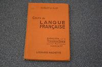 Cours de langue française Classe de 5ème  / Maquet / Flot /1952 (H4)