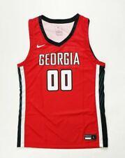 Nike Legend Georgia Bulldogs Team Basketball Jersey Men's Large CQ4299 Red