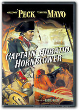 Captain Horatio Hornblower DVD New Gregory Peck Virginia Mayo Christopher Lee
