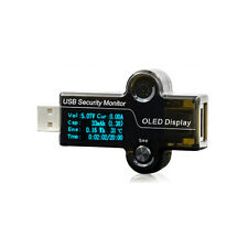 OLED Display USB Security Monitor Voltage Current Battery Capacity Tester