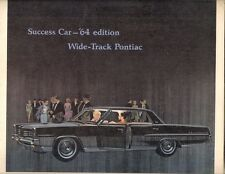 Pontiac Catalina Star Chief Bonneville Grand Prix 1964 USA Market Brochure