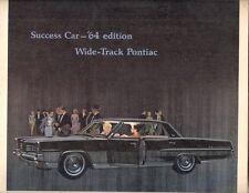 Pontiac Catalina STAR CHIEF Bonneville Grand Prix 1964 Stati Uniti Mercato Opuscolo