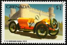 1912 HISPANO-SUIZA T-15 Alfonso XIII Classic Car Stamp