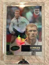 2004 eTopps England Soccer #11 Paul Scholes Refractor Card /1503