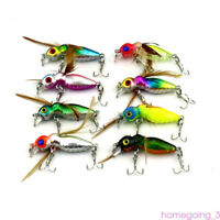 50x Fishing Lures Spinners Spoon Crankbait Shads Trout Bass Lure Boxes Huge Kit
