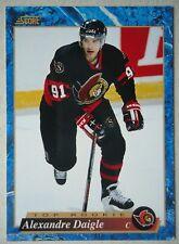 NHL 587 Alexandre Daigle Ottawa Senators Top Rookie Score 1994/95