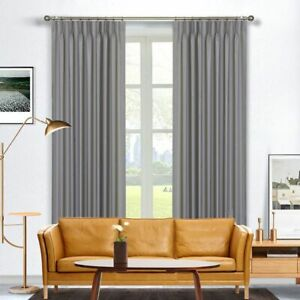 Clearance - Boulevard Blockout Pinch Pleat Curtains