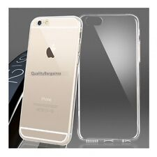 Ultra Slim Clear Gel Soft TPU Silicone Case Cover For Apple Iphone 6 - UK