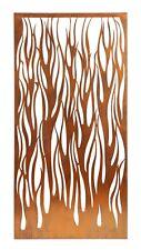 DECORATIVE METAL SCREENS WALL ART GARDEN SCREENS - COPPER FIRE