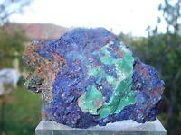 - Minerali Grezzi Cristalloterapia - AZZURRITE con MALACHITE (30) marocco