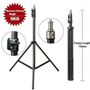 2M Adjustmen Light Stand Tripod 1/4' Screw for Flash Umbrella Lighting Reflector