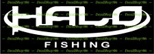 HALO Fishing Rods - Outdoors Sports - Car/SUV Vinyl Die-Cut Peel N' Stick Decals