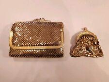 FABULOUS Jane Shilton Vintage purse  and coin Purse - mesh.