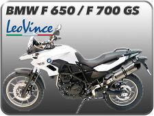 POT D'ECHAPPEMENT LEOVINCE LV ONE EVO INOX POUR BMW F 650 GS F 700 GS F 800 GS
