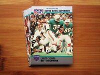 Super Bowl Miami Dolphins Team Set - Larry Csonka