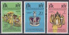 New Hebrides Hebriden 1977 ** Mi.444/46 Regentschaft Queen Elizabeth II [sr2286]