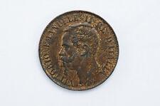 mw3196 Italy; Centesimi 1867 M - Milan Mint  KM#1.1    AU