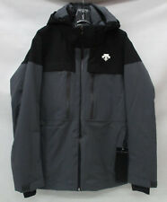 Descente Mens Cypher Insulated Ski Jacket D8-8678 Anthracite Grey/Black Large