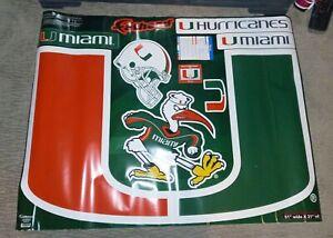 Miami Hurricanes Fathead Decals 51 Wide X 31 Tall