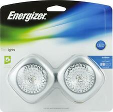 Energizer LED Tap Lights 2-Pack Battery Operated Mountable for Emergencies