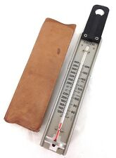 Vintage 1960's thermometer Taylor Stainless Steal Thermometer #A18