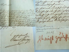 Verleger Eduard VIEWEG (1797-1869): Brief BRAUNSCHWEIG 1837 Klage ZEITUNGSZENSUR