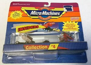 💖MICRO MACHINES INSIDERS COLLECTION # 4 VINTAGE GALOOB NEW IN PACKAGE!