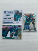 2012 Justin Blackmon LOT Certified Skills Materials #25 /49 Prestige #4 TOPPS
