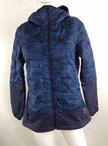 Helly Hansen Women Lifaloft Hybrid Insulator Jacket Blue Camo Medium 65627-995 C