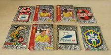 PANINI FRANCE 98 COCA COLA Brésil coupe du monde 1998 * Jeu complet de 60 cartes RARE