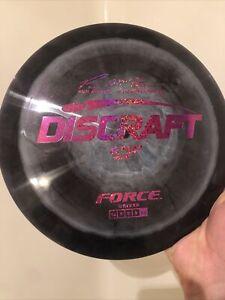 Discraft ESP FORCE Paul McBeth 173-174g | Black With Sparkle Foil | Disc Golf