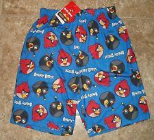 NWT Angry Birds shorts lounge short pajamas Small - 4/5
