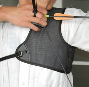 Adjustable Archery Chest Protector Guard Hunting Shooting Bowstring Protective