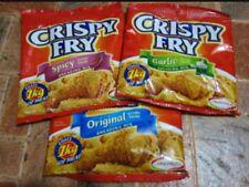3 pck of Ajinomoto Crispy Fry Original,Garlic & Spicy Breading Mix ( Exp.2019)