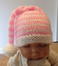 Hand Knitted Baby Pixie/elf Christmas Hat (0-3 Months)