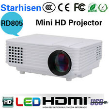 2018 Edition RD805 mini full hd LED Projector Home Cinema Theater VGA 1080 UC40