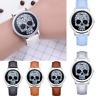 Luxury Fashion Leather Band Unisex Watch Analog Quartz Round Wrist Watch Watches