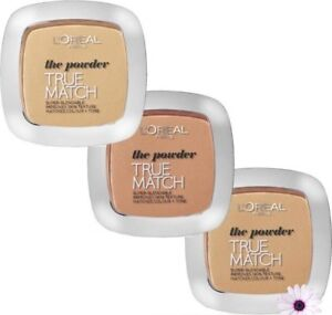L'OREAL True Match Super-Blendable Powder 9g - CHOOSE SHADE - NEW Sealed