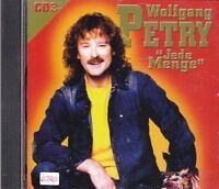 "Wolfgang Petry + CD + ""Jede Menge"" + Tolles Album mit 12 starken Hits + Volume 3"
