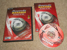 Championship Manager 01/02 2001 2002 Champion Football Soccer cm PC CD ROM Krippe