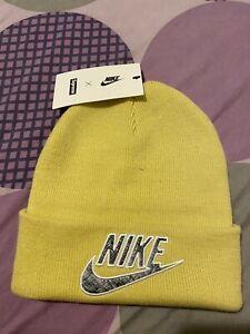 Supreme Nike Python Yellow Beanie